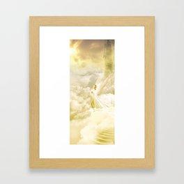 Angels Gate Framed Art Print