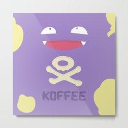 koffee Metal Print