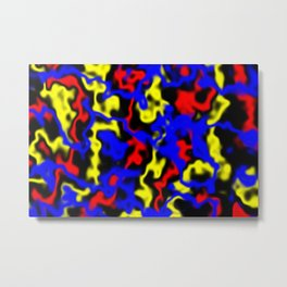 Red, Yellow, Blue Metal Print