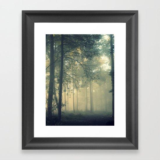 Start Wandering Framed Art Print