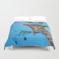 vegan Duvet Covers featuring VEGAN by RokinRonda