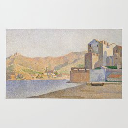 The Town Beach, Collioure, opus 165 Rug