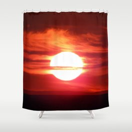 Fireball Above the Saint-Lawrence Shower Curtain