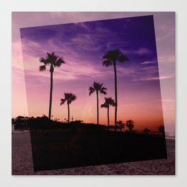 Postcards from the Beach Canvas Print