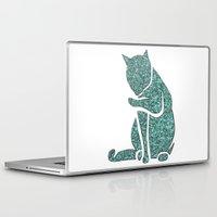 sassy Laptop & iPad Skins featuring Sassy Cat by Rudi Rodebush