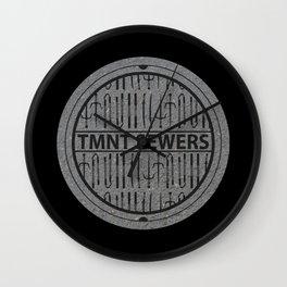 TMNT SEWERS Wall Clock