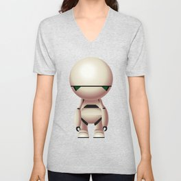 Marvin the Paranoid Android Unisex V-Neck