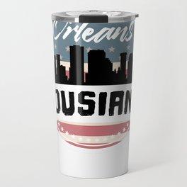 My City, My Home NEW ORLEANS, Lousiana Travel Mug