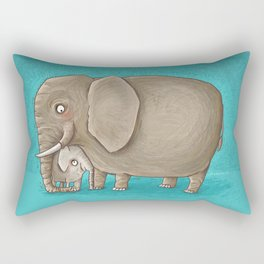 trunk nest Rectangular Pillow