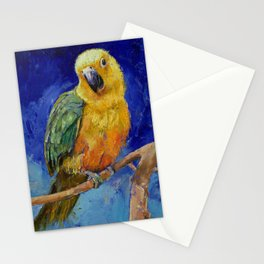 Jenday Conure Stationery Cards