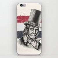 butcher billy iPhone & iPod Skins featuring The Butcher by Derek Guidry