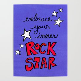 Embrace Your Inner Rock Star Poster