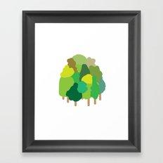minibosque Framed Art Print