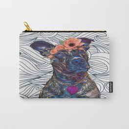 Lola The Pit Bull Carry-All Pouch
