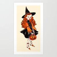 hocus pocus Art Prints featuring Hocus Pocus by Leslie Hung