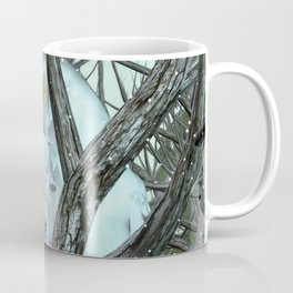 Into The Wild Snowy Owl Coffee Mug