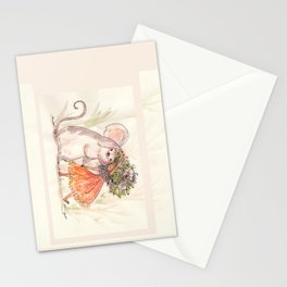 Thumbelina and the Mouse! Stationery Cards