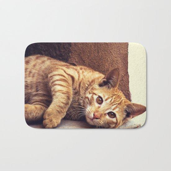 Cat roux Bath Mat