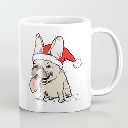 Frenchie Clause French Bulldog Santa Coffee Mug