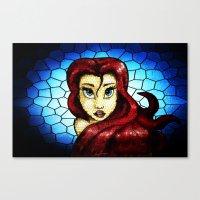 ariel Canvas Prints featuring Ariel.... by Emiliano Morciano (Ateyo)