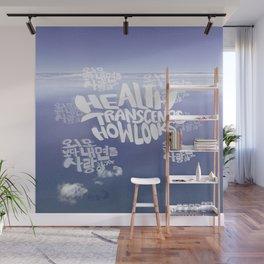 Health Transcends – Lavender Wall Mural