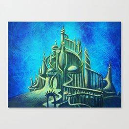 Mysterious Fathoms Below Canvas Print