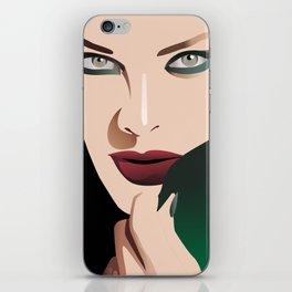 GIRL MAKE UP iPhone Skin