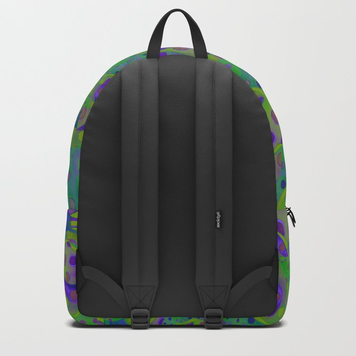 """""""Be yourself (Pop Fantasy Colorful Pattern)"""" Backpack"""