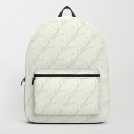 Flowers Pattern on ivory background Backpack