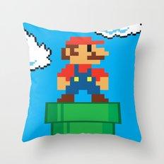 Mario Bros Throw Pillow