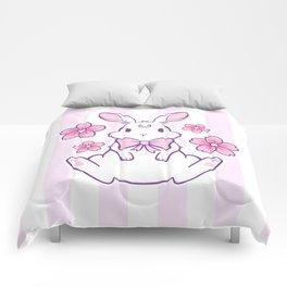 Sakura Bunny 02 Comforters