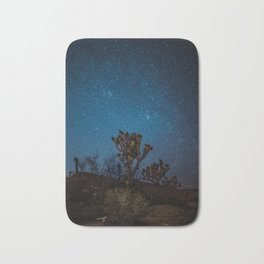 Midnight Stars at Joshua Tree Bath Mat