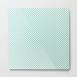 Opal Polka Dots Metal Print