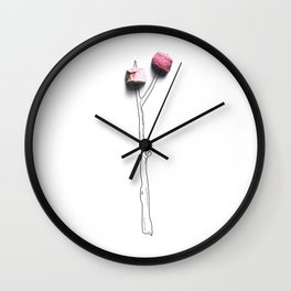 Camp Marshmellow Wall Clock