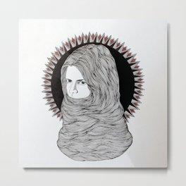Hair Fort. Metal Print
