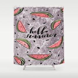 Hello Summer! Shower Curtain