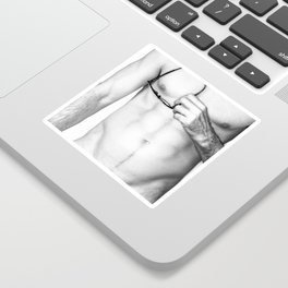 Male Study Sticker