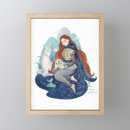 Princess of Scotland Framed Mini Art Print