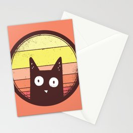 Animals Love Vintage Sunsets - Peach Stationery Cards