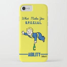 Agility S.P.E.C.I.A.L. Fallout 4 iPhone Case