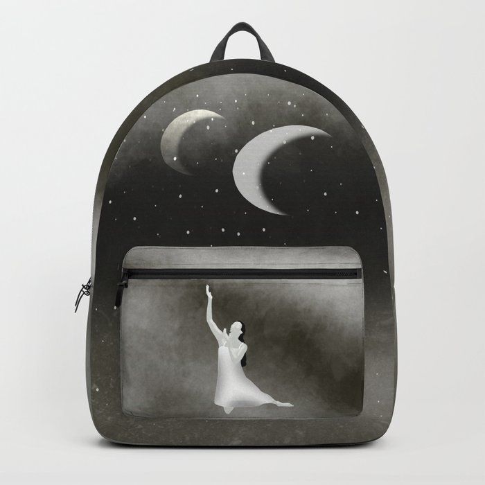 Worshipping the Moon Backpack