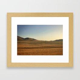 Sunrise over Andalucia, Spain Framed Art Print
