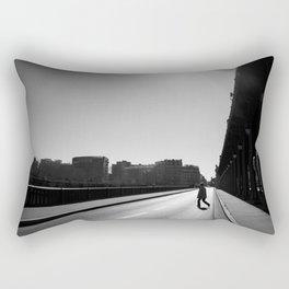 Crossing Pont de Bir-Hakeim / Paris Rectangular Pillow
