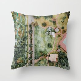 Landscape Photography by sergio souza Throw Pillow