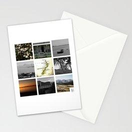 "KIWI square/ ""MAP"" Stationery Cards"