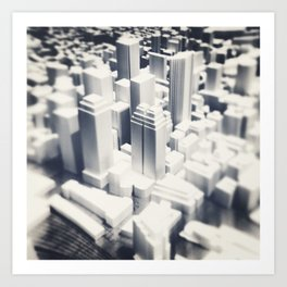 Cityscape Mini Art Print