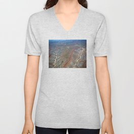 Grand Canyon bird's eye view #2 Unisex V-Neck