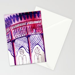 Pavillion at Night Stationery Cards