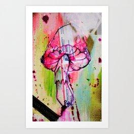 mushroom jazz Art Print