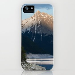 Scenic Mountain Photography Print iPhone Case